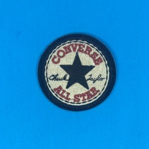 Converse All-Star Iron or Sew Patch